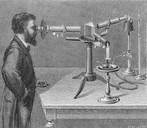 Produce of the spectroscop, Invention